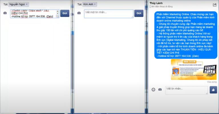 Spam inbox theo uid hàng loạt với phần mềm đăng bài quảng cáo facebook
